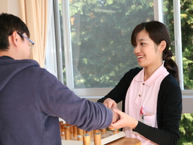 富士リハビリテーション専門学校作業療法学科のイメージ