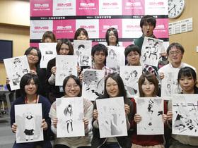 専門学校 札幌マンガ・アニメ学院マンガデザイン学科のイメージ
