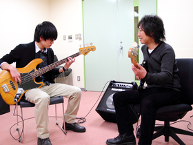 東京工学院専門学校ミュージック科のイメージ
