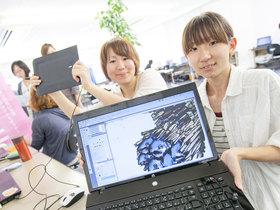新潟コンピュータ専門学校CG・Webクリエーター科(2年制)のイメージ