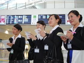 西日本アカデミー航空専門学校航空ビジネス学科 グランドスタッフコースのイメージ