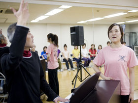 日本ナレーション演技研究所週3回クラス(代々木校(*))のイメージ