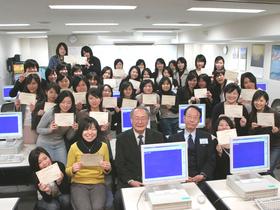 東京エアトラベル・ホテル専門学校エアライン科 グランドスタッフコースのイメージ