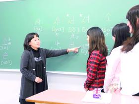 埼玉女子短期大学国際コミュニケーション学科 韓国語コースのイメージ