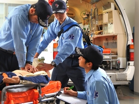 湘南医療福祉専門学校救急救命科のイメージ