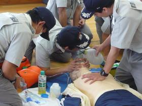 つくば栄養医療調理製菓専門学校救急救命のイメージ