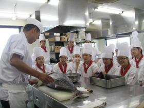 つくば栄養医療調理製菓専門学校専門調理師のイメージ