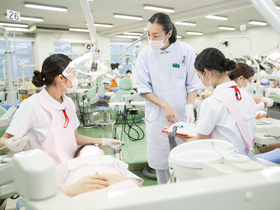神奈川歯科大学短期大学部歯科衛生学科のイメージ