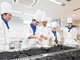 国際フード製菓専門学校調理師科1年制のイメージ