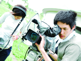 放送芸術学院専門学校メディアクリエイト科 TV番組技術コースのイメージ