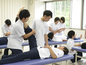 健康科学大学健康科学部 理学療法学科のイメージ