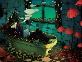 専門学校日本デザイナー芸術学院仙台校デザイン芸術学科 コミックイラスト科のイメージ
