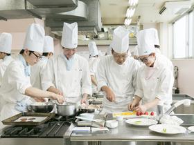 北海道中央調理技術専門学校調理師科(昼間部 1年制課程)のイメージ