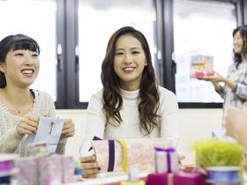 広島ビジネス専門学校キャリアビジネス科 販売プロフェッショナルコース 雑貨&インテリアフィールドのイメージ