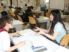 広島ビジネス専門学校キャリアビジネス科 イラスト&まんがコース まんがフィールドのイメージ