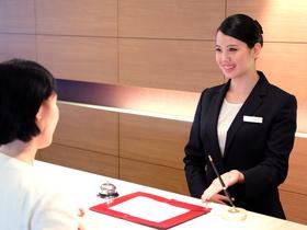東京エアトラベル・ホテル専門学校ホテル科 ホテル&英語コースのイメージ