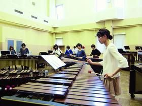 大阪音楽大学短期大学部音楽科 打楽器コースのイメージ