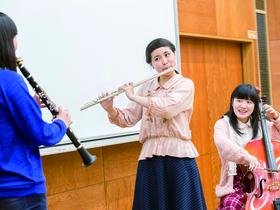 郡山女子大学短期大学部音楽科のイメージ