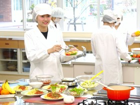富山短期大学食物栄養学科のイメージ
