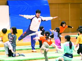 大阪産業大学スポーツ健康学部(※2017年4月新設)のイメージ