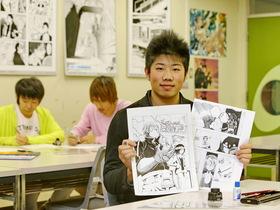 専門学校 日本マンガ芸術学院 名古屋校メディアアート学科 マンガコースのイメージ