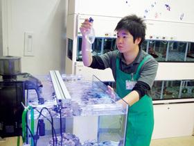 仙台総合ペット専門学校飼育管理科 アクアコースのイメージ
