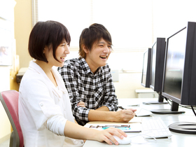 専門学校日本デザイナー学院ビジュアルデザイン科のイメージ