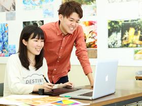 専門学校日本デザイナー学院イラストレーション科のイメージ