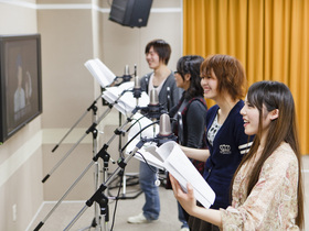 専門学校 札幌マンガ・アニメ学院声優学科のイメージ