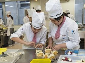 名古屋製菓専門学校洋菓子科のイメージ