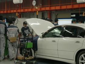 関東工業自動車大学校一級自動車整備科のイメージ