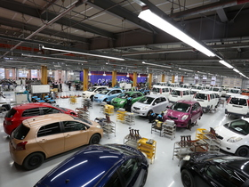 関東工業自動車大学校二級自動車整備科のイメージ