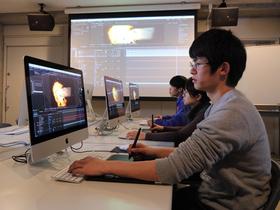 東放学園映画専門学校映画VFX専攻科(※2018年4月デジタル映像研究科より学科名変更(申請中))のイメージ
